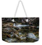 Rocks And Little Water Weekender Tote Bag