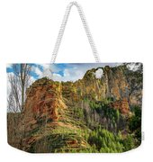 Rocks And Pines Weekender Tote Bag
