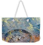 Rocks And Ripples Weekender Tote Bag