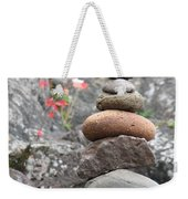 Rocks And Roses Weekender Tote Bag