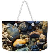 Rocks And Shells Weekender Tote Bag