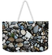 Rocks And Sticks On The Beach Weekender Tote Bag