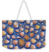 Rocks And Water Abstract Weekender Tote Bag
