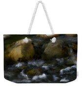 Rocks And Water Weekender Tote Bag