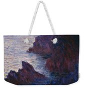 Rocks At Bell Ile Weekender Tote Bag
