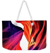 Rocks Dressed In Color Weekender Tote Bag