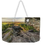 Rocks Of Sharon Overlook Weekender Tote Bag