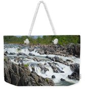 Rocks Of The Potomac Weekender Tote Bag