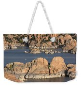 Rocks Of Watson Lake  Weekender Tote Bag