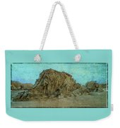 Rocks On The Beach Weekender Tote Bag