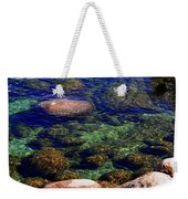 Rocks Ripples And Reflections Weekender Tote Bag
