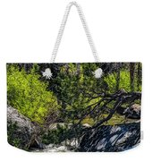 Rocks Water And Knarly Branches Weekender Tote Bag