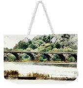 Rockville Bridge On The Susquehanna River Weekender Tote Bag