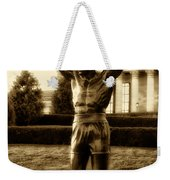 Rocky - Heart Of A Champion  Weekender Tote Bag by Bill Cannon