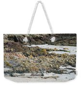 Rocky And Sandy Beach Weekender Tote Bag