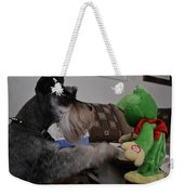 Rocky And The Frog Weekender Tote Bag