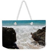 Rocky Beach In The Caribbean Weekender Tote Bag