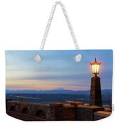 Rocky Butte Viewpoint At Sunset Weekender Tote Bag