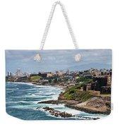 Rocky Coast Of Puerto Rico Weekender Tote Bag