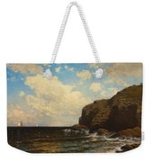 Rocky Coast With Breaking Waves Weekender Tote Bag