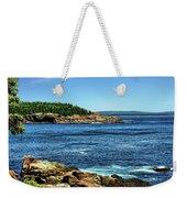 Rocky Coastline 3 Weekender Tote Bag