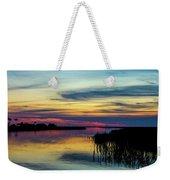 Rocky Creek Sunset Weekender Tote Bag