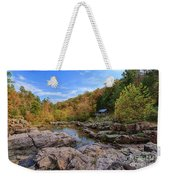 Rocky Falls Near Klepzig Mill Weekender Tote Bag