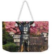 Rocky In Spring Weekender Tote Bag
