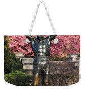 Rocky In Spring Weekender Tote Bag