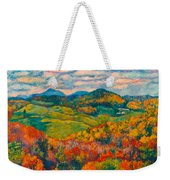 Rocky Knob In Fall Weekender Tote Bag