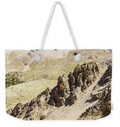 Rocky Landscape - 3 - French Alps Weekender Tote Bag