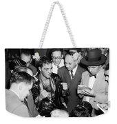 Rocky Marciano (1924-1969) Weekender Tote Bag by Granger