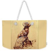 Rocky Mountain Bighorn Sheep Weekender Tote Bag