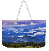 Rocky Mountain Cloud Layers Weekender Tote Bag
