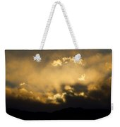 Rocky Mountain Continental Divide Sunset Weekender Tote Bag