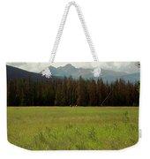 Rocky Mountain Elk Weekender Tote Bag