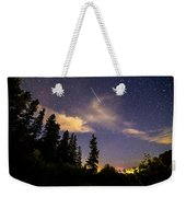 Rocky Mountain Falling Star Weekender Tote Bag