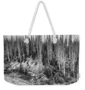 Rocky Mountain High Elevation Forest Large Panorama Weekender Tote Bag