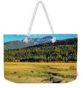 Rocky Mountain National Park Elk Weekender Tote Bag
