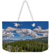 Rocky Mountain Overlook Weekender Tote Bag