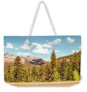 Rocky Mountain Panorama Weekender Tote Bag