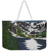 Rocky Mountain Weekender Tote Bag