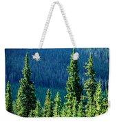 Rocky Mountain Skyline Weekender Tote Bag