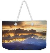 Rocky Mountain Springtime Sunset 3 Weekender Tote Bag by James BO  Insogna