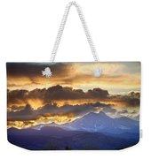 Rocky Mountain Springtime Sunset 3 Weekender Tote Bag