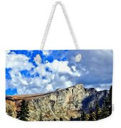 Rocky Mountain Summit Weekender Tote Bag