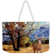 Rocky Mountain Trail Weekender Tote Bag