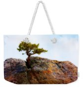 Rocky Mountain Tree Weekender Tote Bag