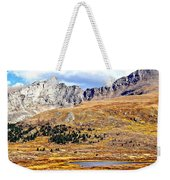 Rocky Mountain Tundra And Lake Weekender Tote Bag