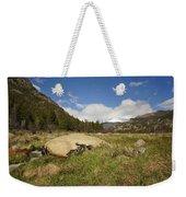 Rocky Mountain Valley Weekender Tote Bag